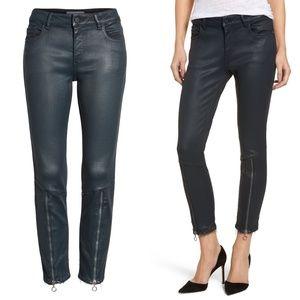 DL1961 Florence Instasculpt Crop Skinny Jeans Zip